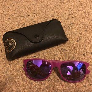 Ray Ban 4202 purple sunglasses
